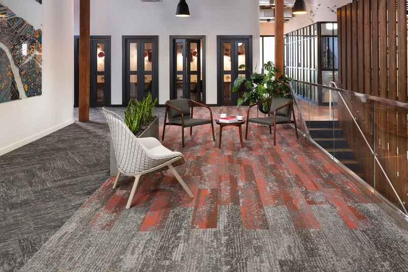 Eco-friendly carpet tiles – Living