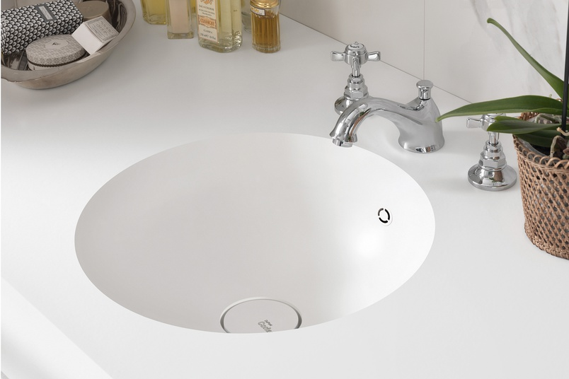 Corian 7220 basin and benchtop.