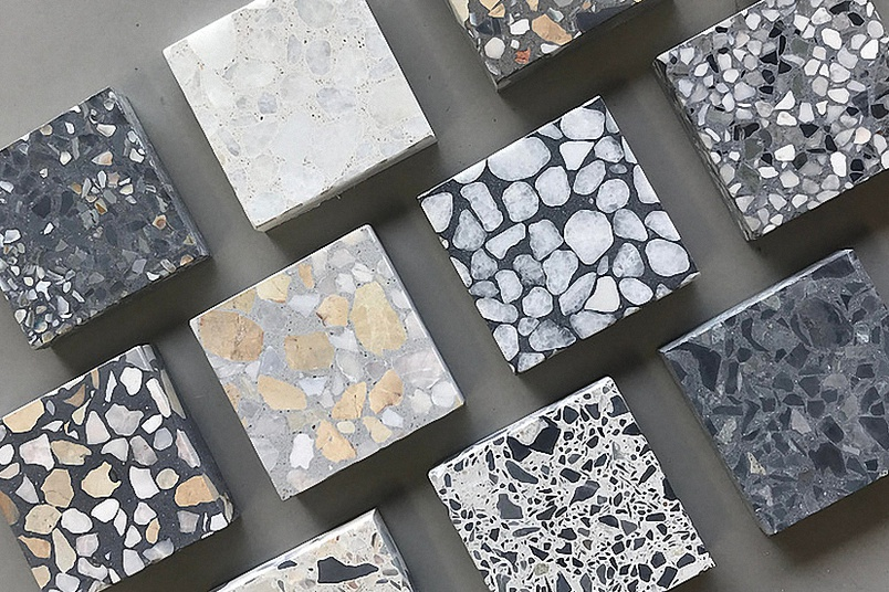 Terrazzo Concrete Tiles And Slabs Venice By Concrete